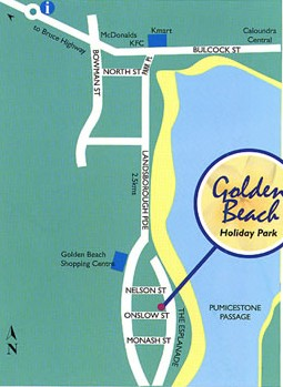 Golden Beach Holiday Park - Yamba Accommodation