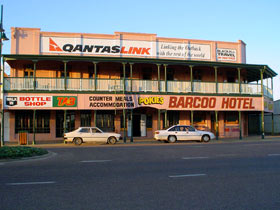 Barcoo Hotel - Yamba Accommodation