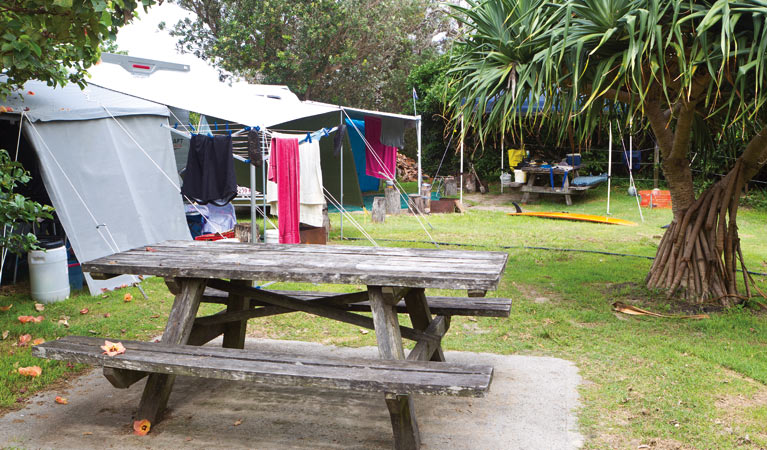 Sandon River campground - Yamba Accommodation