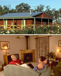 Twin Trees Country Cottages - Yamba Accommodation