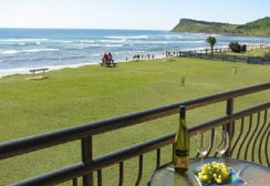 Lennox Head Beachfront Apartments - Yamba Accommodation
