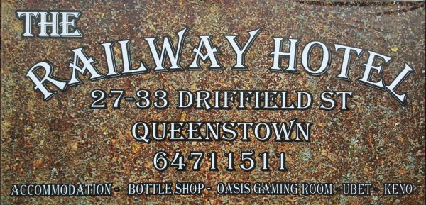 The Railway Hotel Queenstown - Yamba Accommodation