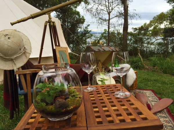 Wingtons Glamping Clarence Point - Yamba Accommodation