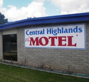 Central Highlands Motor Inn - Yamba Accommodation