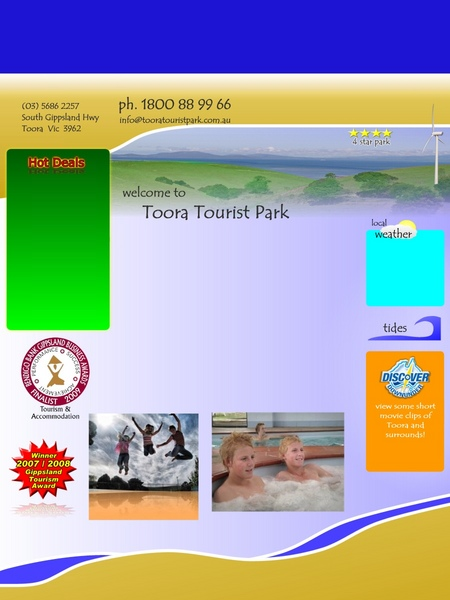 Toora Tourist Park - Yamba Accommodation