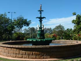 Band Rotunda and Fairy Fountain - Yamba Accommodation