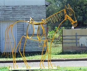 Augathella Wrought Iron Sculptures - Yamba Accommodation