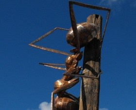 Augathella Meat Ant Park and Sculpture - Yamba Accommodation