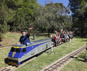Willans Hill Miniature Railway - Yamba Accommodation