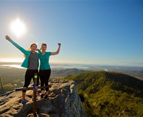 Mount Larcom Climb - Yamba Accommodation