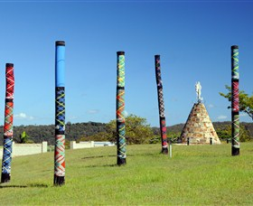 Maclean Tartan Power Poles - Yamba Accommodation