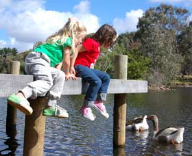 Vasse River and Rotary Park - Yamba Accommodation