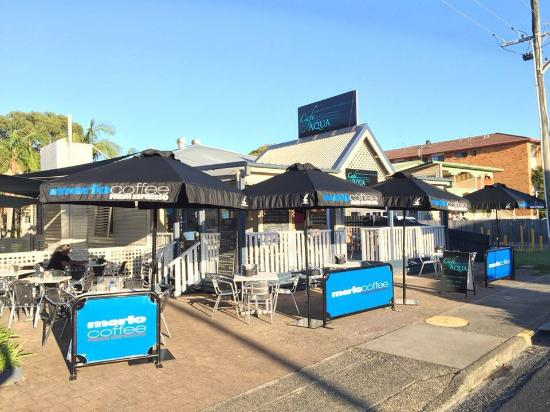 Cafe Aqua - Yamba Accommodation