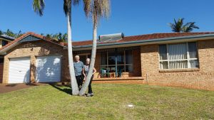 Twin Palms Holiday House at Lighthouse - Yamba Accommodation