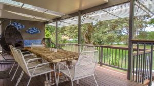 'RIVERSIDE RETREAT' 544 Ocean Drive North Haven - Yamba Accommodation